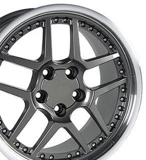 17 Rims Fit Camaro Corvette Z06 Style Wheels Set