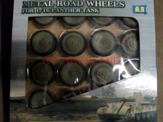 Long 1 16 Scale Old Version Panther Tank Metal Road Wheels Kit