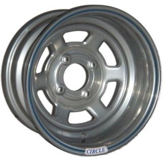 Circle Racing Wheels Series 13 Silver Wheel 13x8 4x100mm