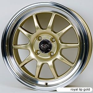 15 Rota GT3 Gold Rims Wheels Tires Civic Integra Miata