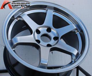 Varrstoen ES221 18x8 5 5x114 3 Hyper Black Wheel Fit Scion TC XB IS250