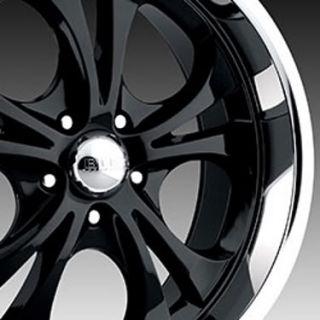 Boss Wheels Style 304 20 x 8 5 5 x 4 75 Black Wheels Rims