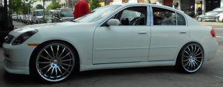 Giovanna Martuni 20 Chrome Rims Wheels Maxima Stag