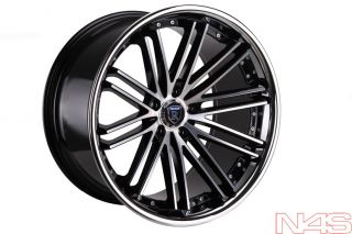 Audi A7 Rohana RC20 Machined Deep Concave Staggered Wheels Rims