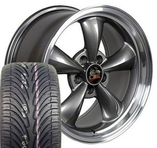 17 Fits Mustang® Bullitt Wheels Rims Tires Anthracite