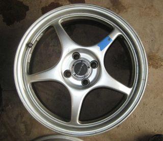 BMW Mini Honda Civic Enkei Racing 4x100 17 RP02 Wheels