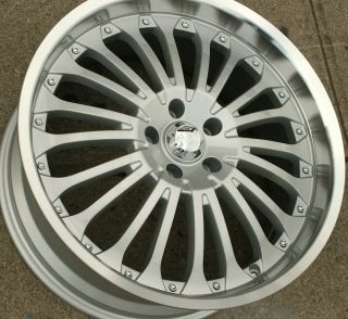 Z02 20 Silver Rims Wheels Benz E350 E500 20 x 8 5 5H 35