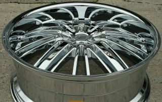 22 Chrome Rims Wheels Honda Odyssey Ridgeline 22 x 8 5 5H 35