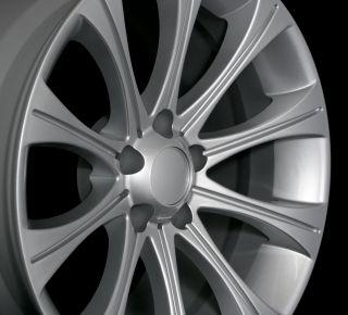 19 BMW M5 Style Hyper Silver Wheels Rims Fit BMW E34 E39 E60 E61 F10