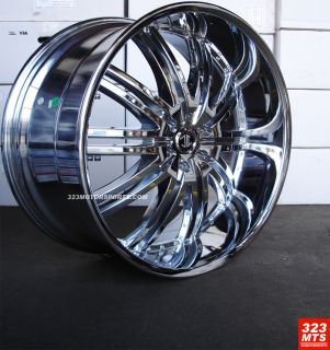 Rims Wheels 2CRAVE 11 NO11 Chevy Silverado Escalate Tahoe Wheels Rims