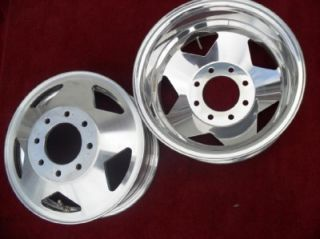 Alcoa Lts Dually Alloy Wheels 16 Rear GM Chevy GMC 3500 1976 2000