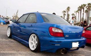 ES221 5x100 White Wheel Fit Subaru GD8 GB Impreza WRX Rims