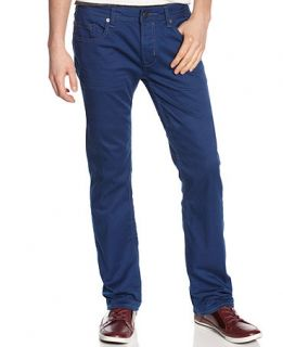 Buffalo David Bitton Jeans, Six Torpedo Slim Straight Fit Jeans   Mens