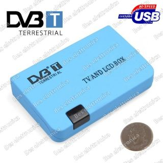 Decoder Mini DVB T Digitale Terrestre USB Rec Monitor Uscita VGA