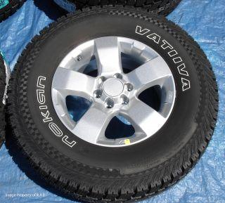 Frontier Xterra Pathfinder 16 Wheels Nokian Vatiiva Tires