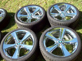 21 BMW 128 Chrome Wheels x5 x6 19 20 22 E53 E70 E71 4 8i 4 4i 4 6i