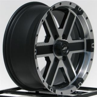 18 inch Black Wheels Rims Chevy Truck Tahoe Avalanche Express Van 1500