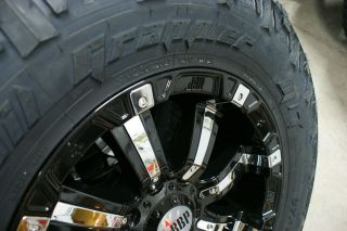35 12 50 20 RBP Wheels Nitto Trail Rim Tire Package