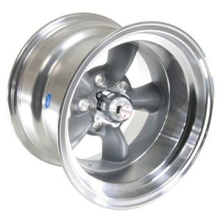American Racing Torq Thrust D Gray Wheel 15x10 5x4.5 BC Set of 4