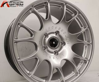 18 Hyp Silver CH Racing Rim Wheels BMW E46 E90 M3 335i