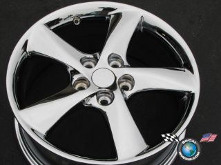 One 03 04 Mazda 6 Factory 17 Chrome Wheel Rim 64857 3M81 1007 BC