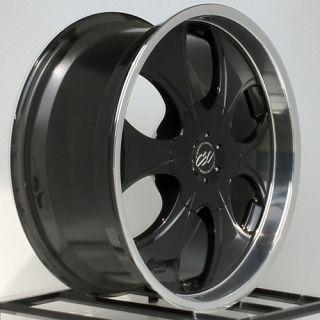 22 inch Black Rims Wheels Chevy Truck Silverado Tahoe Avalanche GMC