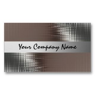 Metal Look Business Cards