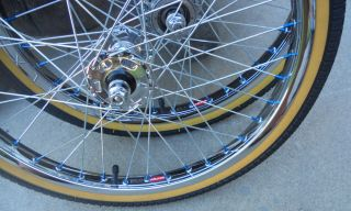 Vtg Old School BMX Araya 26 Cruiser Rim Wheels Hoops Mongoose KOS