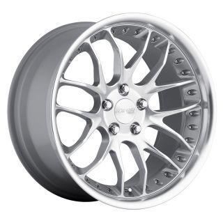 MRR GT07 18x9 5 5x120 40 Hyper Silver Rims Wheels
