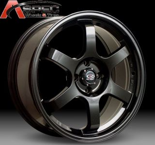 16x7 Rota Grid 4x100 40 Flat Black Wheel Fits Miata Fit XB Yaris Jetta