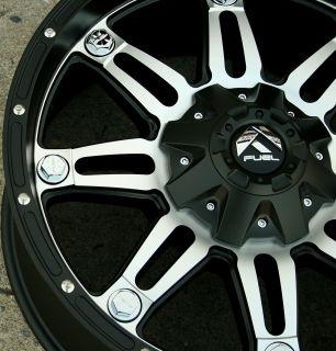 D532 20 Black Rims Wheels RAM 1500 2 4WD 94 10 20 x 9 0 5H 20
