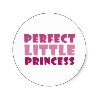 Perfect Little Princess Sticker