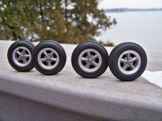 18 Highway 61 Torque Thrust 5 Spoke Street Racing Mag Wheel Tire Set