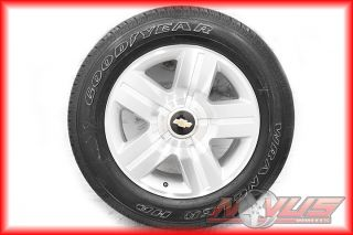 SILVERADO LTZ TAHOE MACHINED WHEELS GOODYEAR TIRES FACTORY GM OEM 18