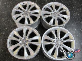 Four 06 12 Audi A3 A4 S4 Factory 17 Wheels Rims 8P060125CC