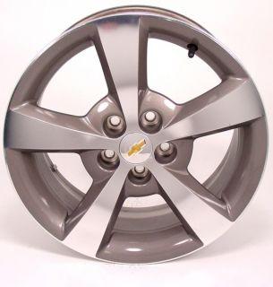 17 Chevy Malibu Factory Wheel Machined Grey 5334