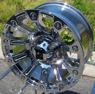 18 XD Ambush Wheels Rims Sierra Chevy Silverado Tahoe