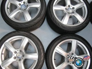 Factory 18 Wheels Tires OEM Rims 255/40/18 285/35/18 W218 85232 85233