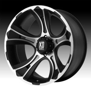 17 inch 17x9 XD Machined Wheels Rims 8x180 2011 Silverado Sierra 2500