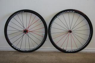 Fusee SL 25   Carbon Fiber Tubular Wheelset Wheels Carbon Fiber Hubs