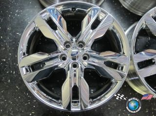 12 Ford Edge Factory Chrome Clad 20 Wheel Rim BT43 1007 Da 3847