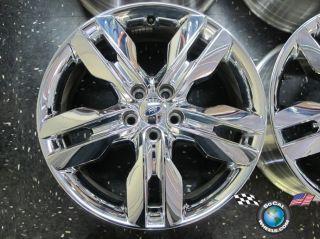 12 Ford Edge Factory Chrome Clad 20 Wheel Rim BT43 1007 Da 3847