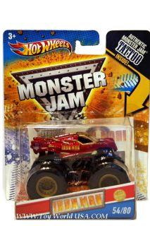 2011 Hot Wheels Monster Jam Truck United States Hot Rod Association