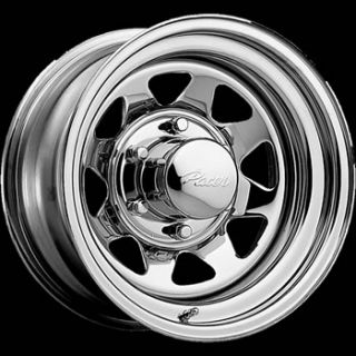 15x8 Chrome Wheel Pacer Chrome Spoke 5x5.5 Rims