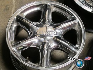 00 GMC Yukon Denali Factory Chrome 16 Wheel Rim 5094 Suburban