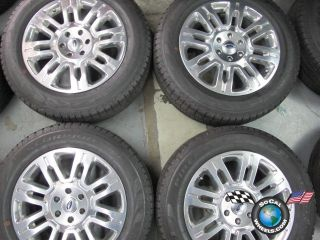 09 11 Ford F150 Factory 20 Wheels Tires Expedition 3788 Rims