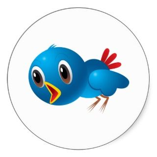 Bluebird Blue Bird ~ Cartoon ArtHumorous Animal Caricatures