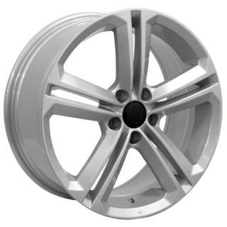 CC Style Silver Wheels Set of 4 Rims Fits Volkswagen Audi VW