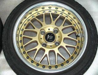 WORK VS XX 14 6.5J +26 Alloy RIMS Wheels 4x100 RX4 CIVIC 626 MX5