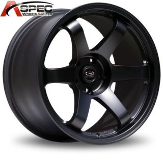 Rota Grid 17x9 5x100 42 73 1 Flat Black Wheel WRX TC